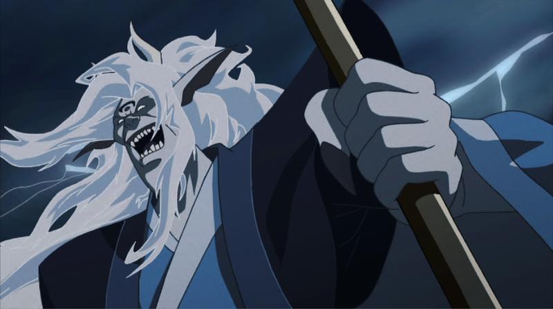 Hellboy: Sword of Storms - Démon blesku