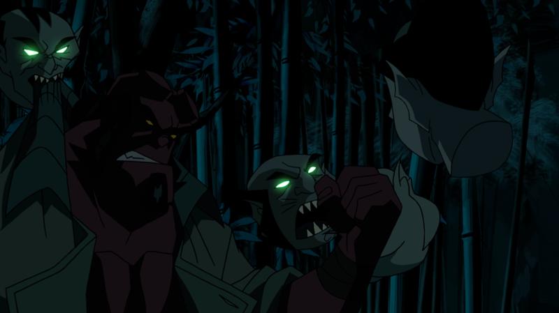 Hellboy: Sword of Storms - Hellboy a duchovia hláv