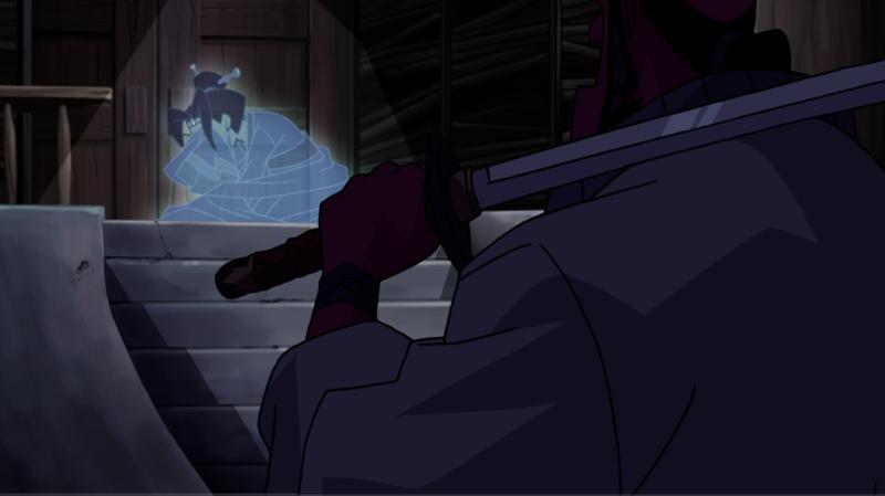 Hellboy: Sword of Storms - Hellboy a duch plačúceho dievčaťa