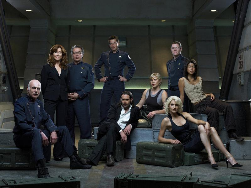 Battlestar Galactica - 3. séria - všetky postavy