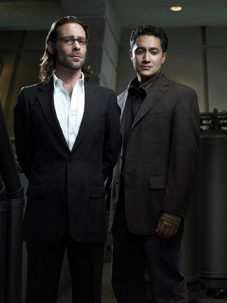 Battlestar Galactica - 3. séria - Gaius a Gaeta