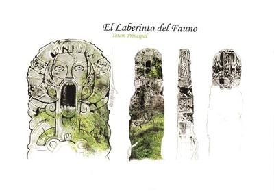 Laberinto del Fauno, El - Skica stĺpu