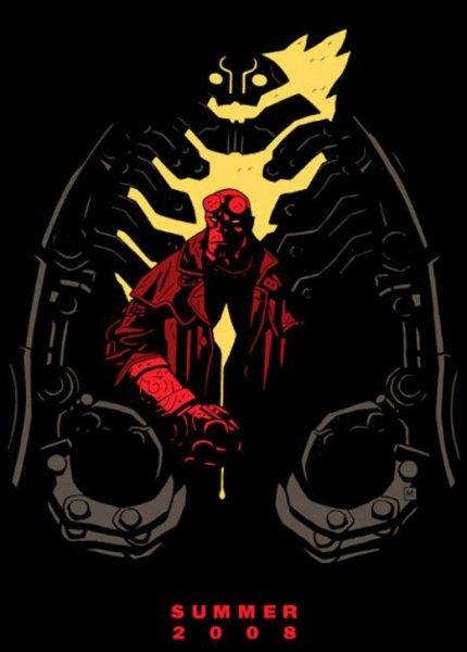 Hellboy 2 - Poster - Teaser