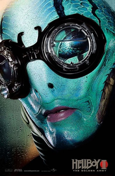 Hellboy 2 - Poster - Abe