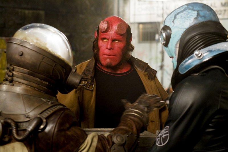 Hellboy 2 - Foto - Hellboy, Abe a Johann Kraus