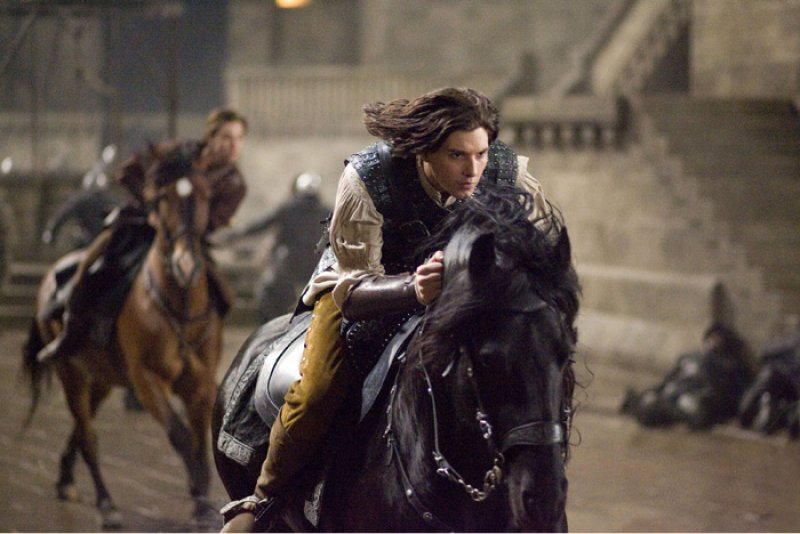 Kroniky Narnie: Princ Kaspián - Kaspián uniká na koni