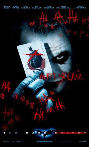 Dark Knight, The - Poster - Joker Version - Joker