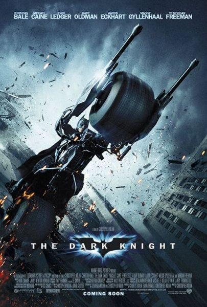 Dark Knight, The - Poster - Motorcycle