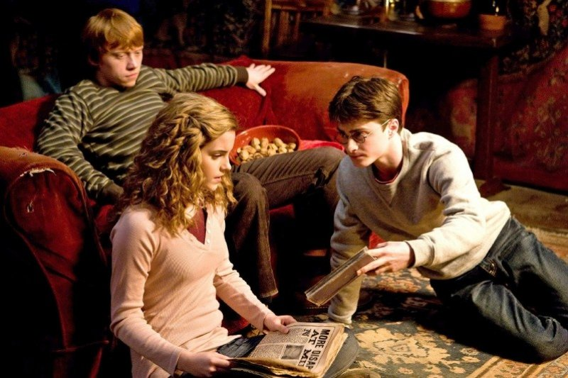 Harry Potter and the Half Blood Prince - Harry, Hermiona a Ron