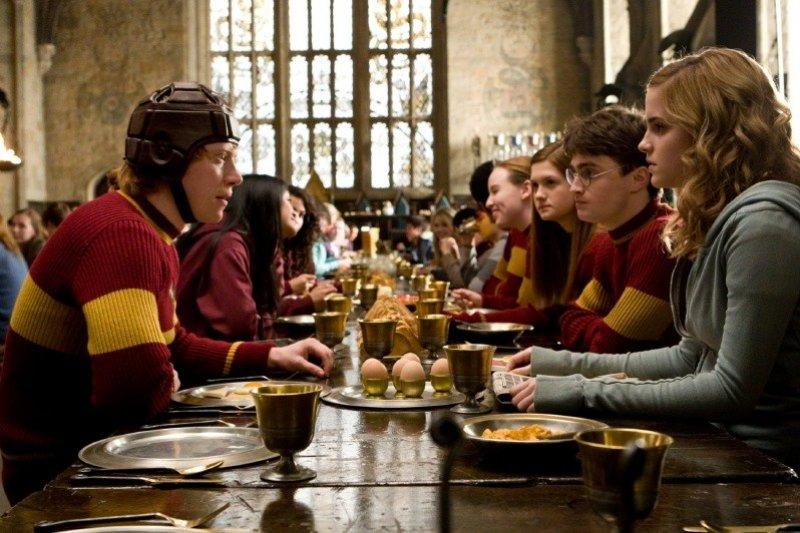Harry Potter and the Half Blood Prince - Metlobalový tím vo Veľkej sieni