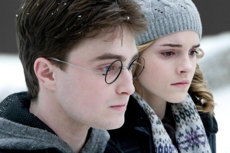 Harry Potter and the Half Blood Prince - Harry a Hermiona