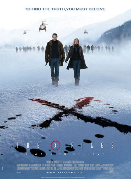X-Files, The: I want to believe