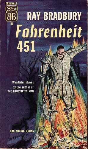 Fahrenheit 451 - Obálka - 1953