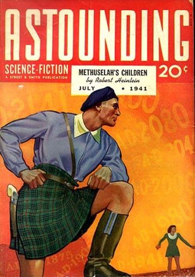 Astounding Science Fiction - Obálka - Júl 1941