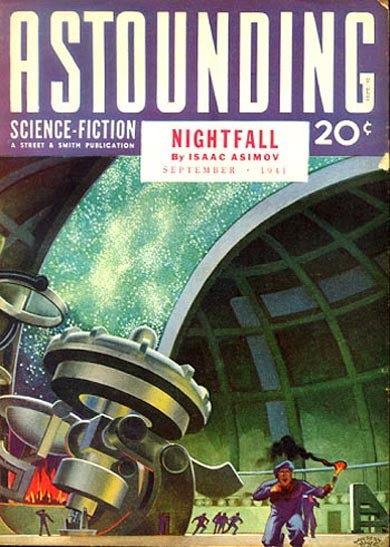Astounding Science Fiction - Obálka - September 1941