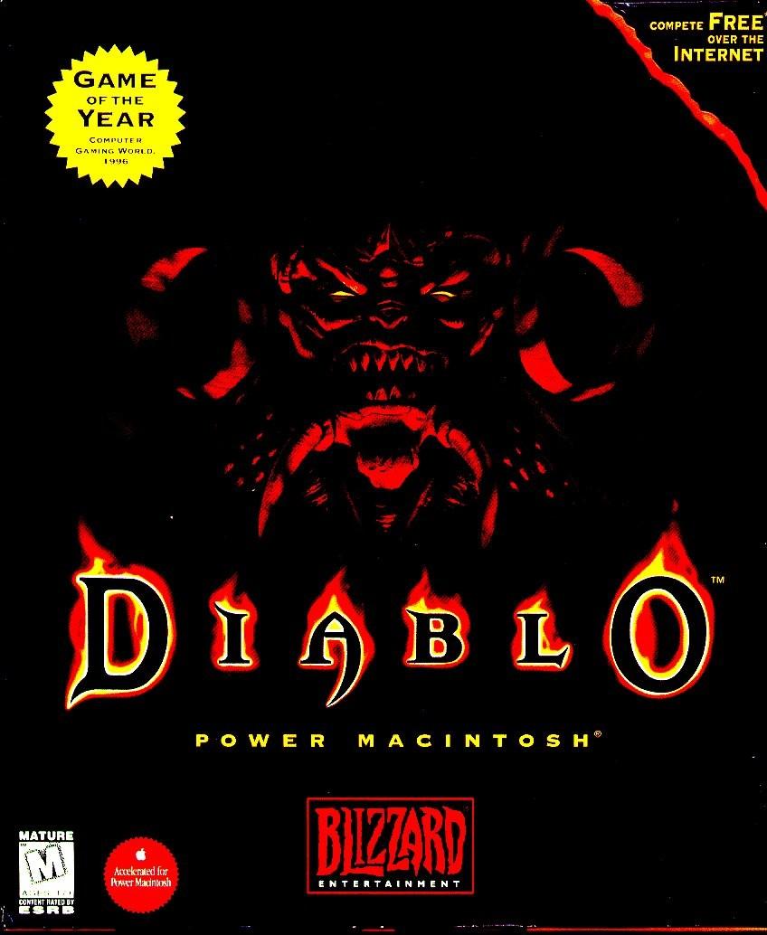 Diablo - Obal - Mac
