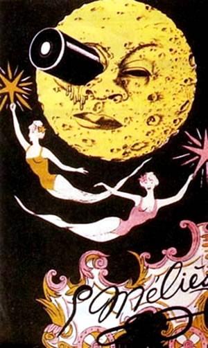 Le voyage dans la lune - Poster