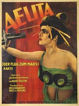 Aelita - poster