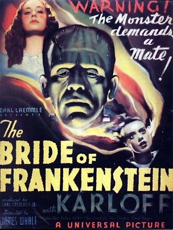Bride of Frankenstein - poster