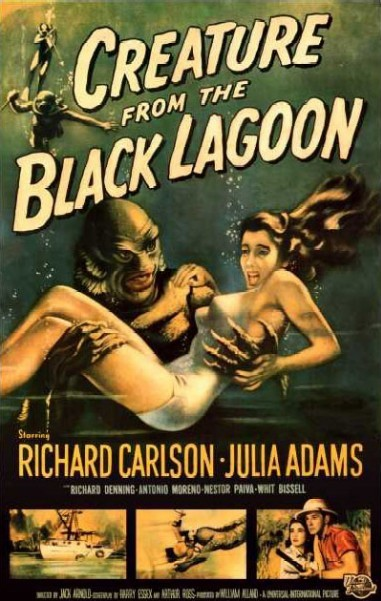 Creature from the Black Lagoon - poster