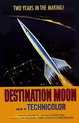 Destination Moon - poster