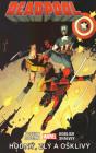 Deadpool 03: Dobrý, zlý a škaredý - obálka 1. českého vydania, Crew, 2017