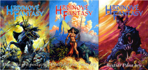 Hrdinovia Fantasy - Obálka - Pravidla pro Pána hry