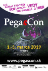 PegasCon 2019 - Plagát - Oficiálny