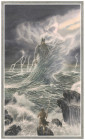 Pád Gondolinu. Vnútorná ilustrácia - Gondolin v plameňoch (by Alan Lee).