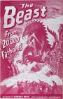 Príšera z hĺbky 20 000 siah. Nemecký plagát.