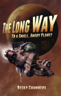 The Long Way to a Small, Angry Planet. Obálka prvého vydania (CreateSpace Independent Publishing Platform, 2014)