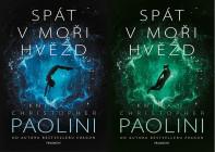 Spát v moři hvězd - kniha I a kniha II. Obálky prvých českých vydaní (Fragment, 2020 a 2021)