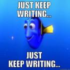 Poviedky na počkanie XXXII - Plagát - Ďalej písať, ďalej písať