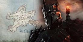 Pán prsteňov - Mapa
