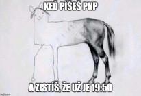 Poviedky na počkanie XXXV - Plagát - PNP kôň