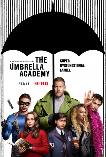 The Umbrella Academy. Oficiálny plagát.