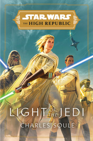 Star Wars The High Republic: Light of the Jedi. Obálka prvého vydania (Penguin Random House, 2020)