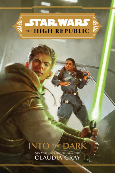 The High Republic: Into the Dark. Obálka prvého vydania (Disney–Lucasfilm Press, 2020)