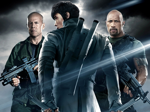 "G.I. Joe 2: Retaliation - Plagát - G.I. JOE: RETALIATION Featurette - ""Land, Sea. Air"""