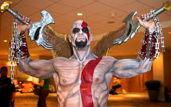 Cosplay na scifi.sk - God of War - Kratos