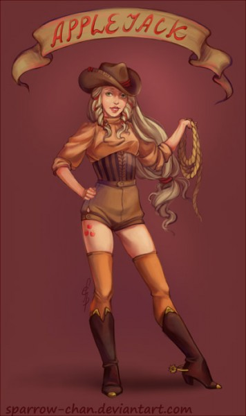 My Little Pony: Priatel''stvo je magické - Fan art - Applejack