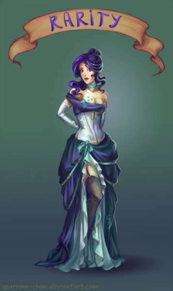 My Little Pony: Priatel''stvo je magické - Fan art - Rarity