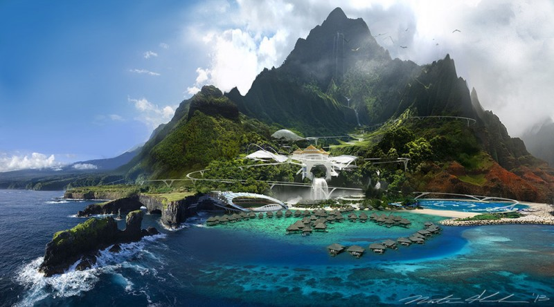 Jurassic World - Koncept - Visitor center