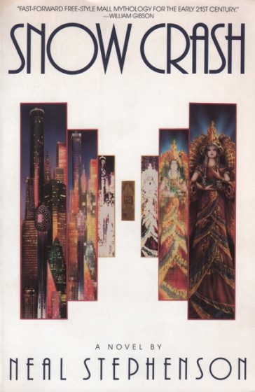 Snow Crash - Plagát