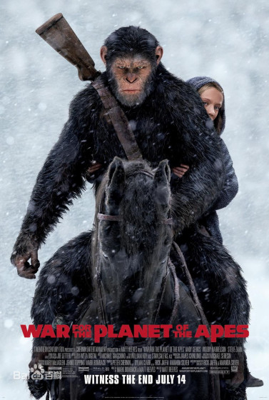 War for the Planet of the Apes - Plagát