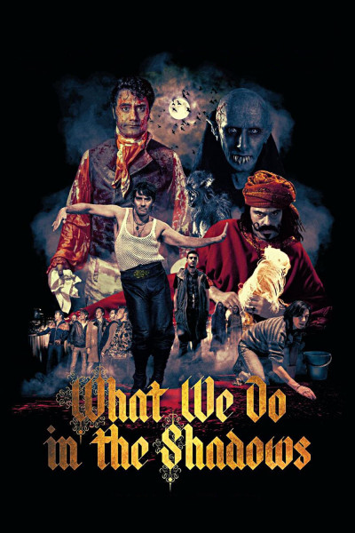 What We Do in the Shadows - Plagát