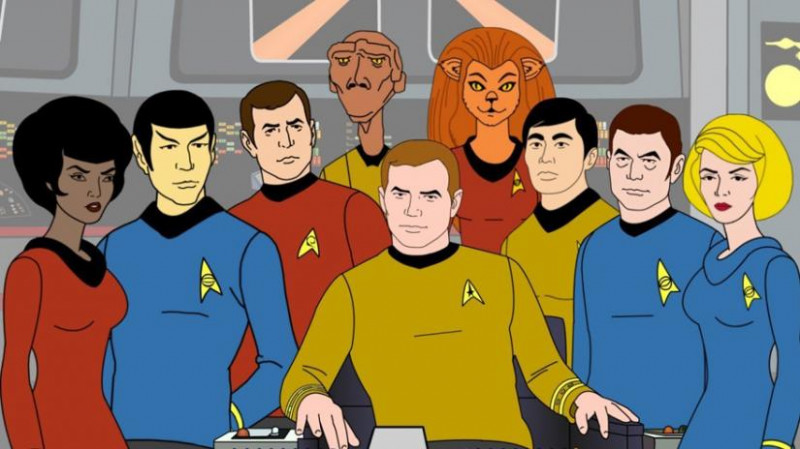 Star Trek: The Animated Series (ST:TAS). Posádka lode Enterprise.