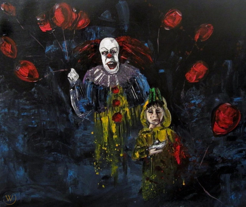 Pennywise artwork Pennywise artwork
