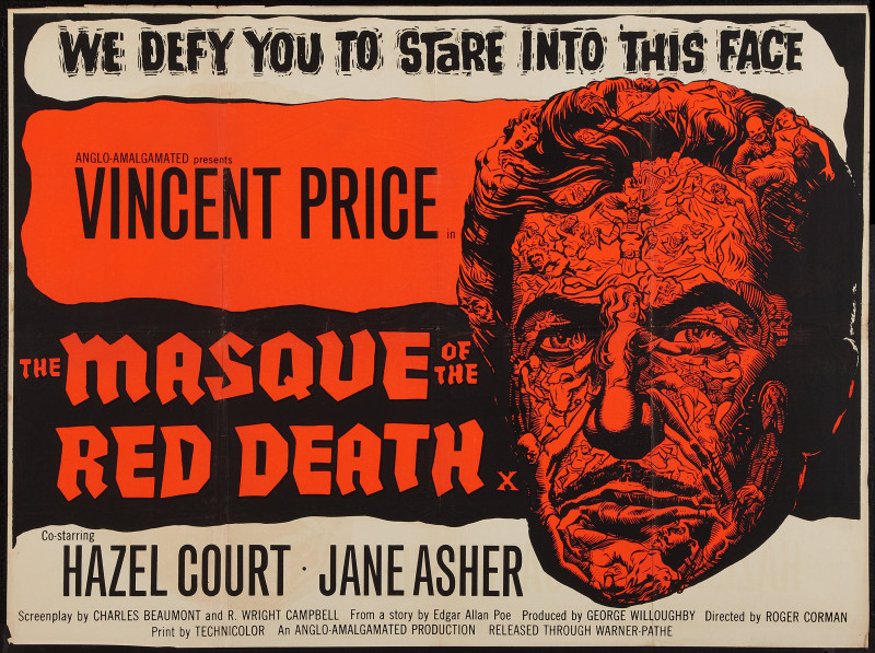 Filmový poster The Masque of the Red Death.