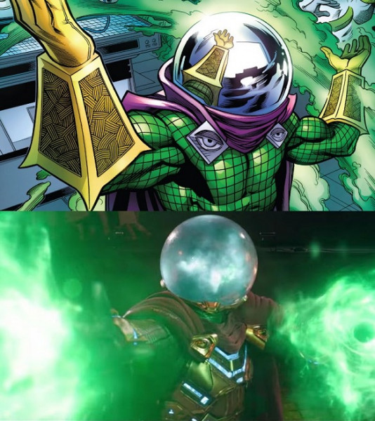 Mysterio: komiks vs. film